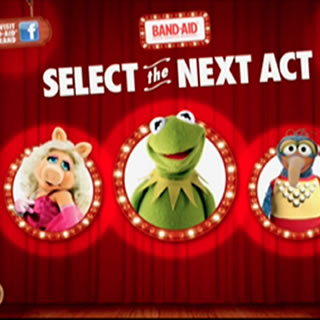 Band Aid Muppets Augmented Reality
